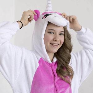 Кигуруми Бело-розовый единорог