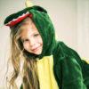 Кигуруми детский Зеленый динозаврик