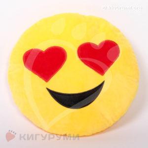 Подушка-смайлик Любовь