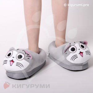 Тапки-игрушки Котик